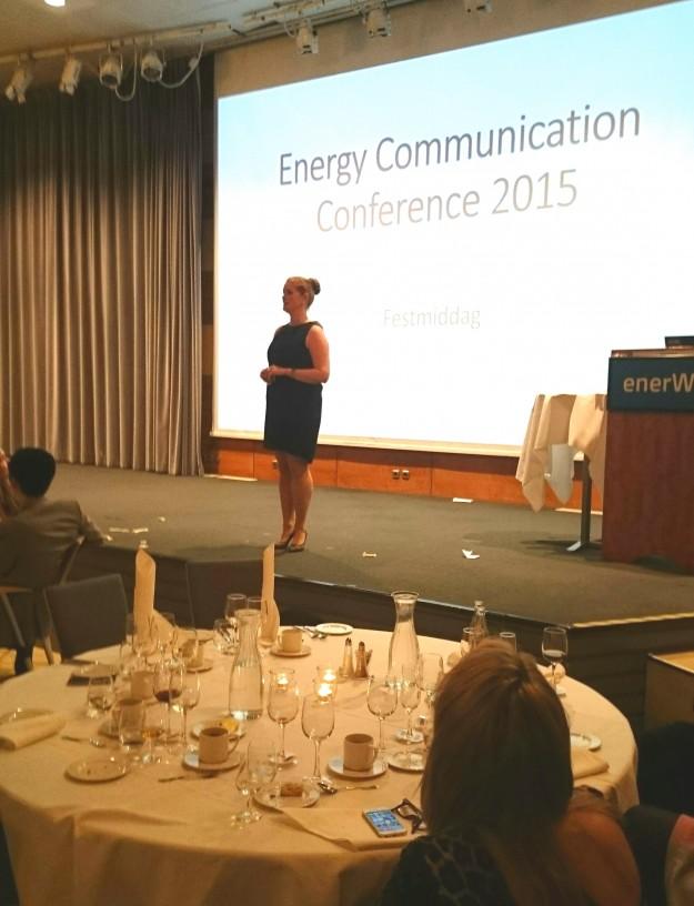 Synneva Erland Kommunikasjon på ECC 2015