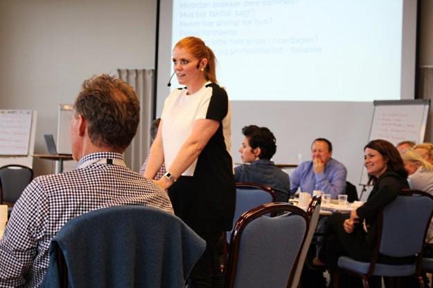 Foredrag for AS Norske Shell, Synneva Erland Kommunikasjon