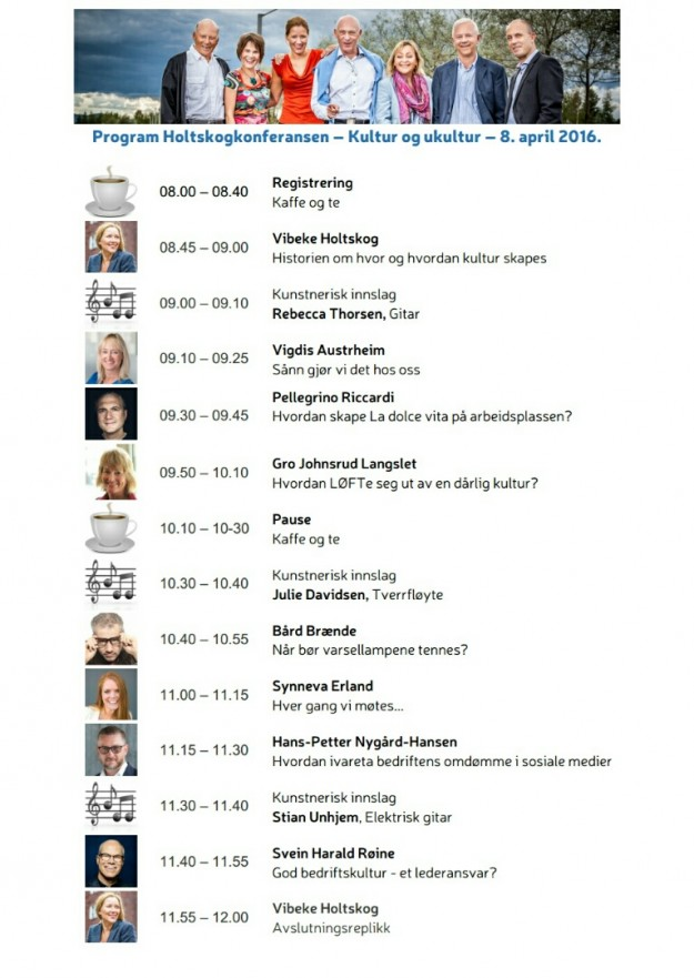 Holtskogkonferansen program
