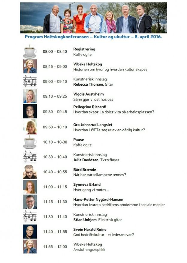 Holtskogkonferansen program