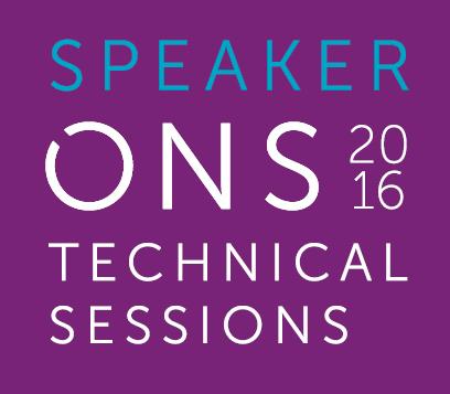 Speaker Technical Sessions